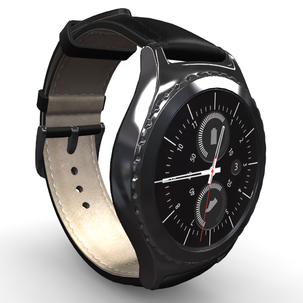 3D-review of Samsung Gear S2 Classic